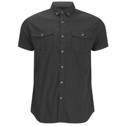 Smith & Jones Men's Pelmet Short Sleeve Shirt - Black