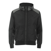 Smith & Jones Men's Skyhigh Windbreaker Jacket - Caviar