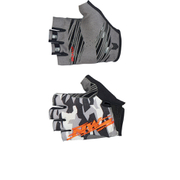 Northwave Mtb Air 2 Short Gloves - Camo/Orange Fluo