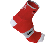 Castelli Rosso Corsa 13 Cycling Socks - Red