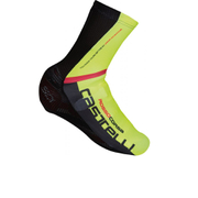 Castelli Aero Race Shoe Covers - Black/Yellow