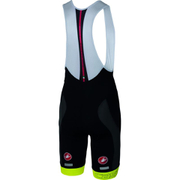 Castelli Velocissimo Bib Shorts - Black/Yellow