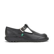 Chaussures Kickers Femme Kick Lo Aztec T-Bar -Noir
