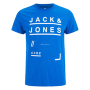 Jack & Jones Men's Core Fate T-Shirt - Director Blue