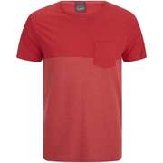 Jack & Jones Herren Originals Tobe 2 Tone T-Shirt - Rot