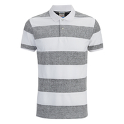 Jack & Jones Men's Originals Micks Polo Shirt - Black/White
