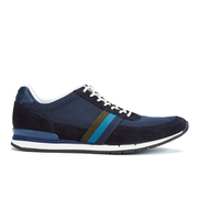 PS by Paul Smith Men's Swanson Running Trainers - Galaxy Mesh/Silky Suede