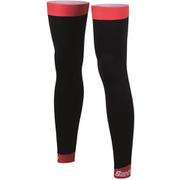 Santini BeHot Leg Warmers - Black/Red