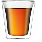 Bodum Canteen Double Wall Glass - 2 Pack