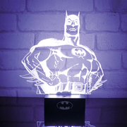 Lampe 3D Super Héro Batman DC Comics