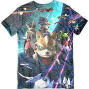 Star Fox Zero Character T-Shirt - Multi (S)