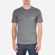 Carhartt Men's Short Sleeve Pocket T-Shirt - Grey