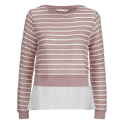 ONLY Women's Rope Mix Top - Misty Rose