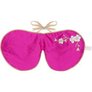 Holistic Silk Lavender Eye Mask - Pink Blossom