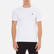 Converse Men's All Star Core Left Chest CP Crew T-Shirt - White