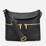 Elizabeth and James Women's James Crossbody Hobo Bag - Black