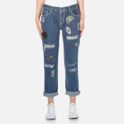 OBEY Clothing Women's The Nemesis Jeans - Washed Indigo