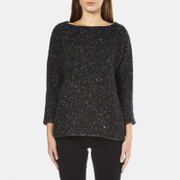 BOSS Orange Women's Widianna Speckled Jumper - Black