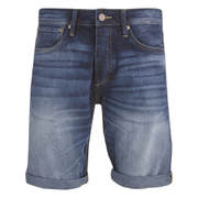 Jack & Jones Men's Rick Original Denim Shorts - Mid Wash