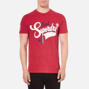 Superdry Men's Rebel T-Shirt - Rich Scarlet