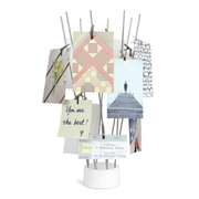 Umbra Fotofan Desk Photo Display - White