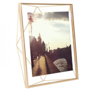 Umbra Prisma Photo Frame - Matt Brass - 8 x 10""