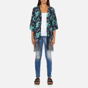 Superdry Women's Eivissa Kimono Top - Electric Storm