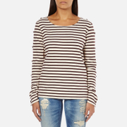 Maison Scotch Women's Long Sleeve Breton T-Shirt - Multi