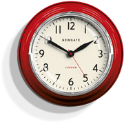 Newgate Cookhouse Wall Clock - Red