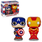Captain America en Iron Man Pop! Home Peper- en Zoutstel
