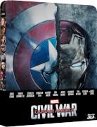 The First Avenger: Civil War 3D - Zavvi exklusives (UK Edition) Limited Edition Steelbook