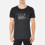 HUGO Men's Doguh Logo Crew Neck T-Shirt - Charcoal