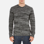 YMC Men's Wickerman Crew Neck Jumper - Charcoal