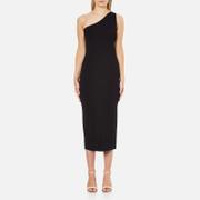 Theory Women's Yuleena Lustrate Midi Dress - Black