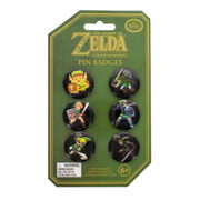 The Legend of Zelda Collector's Edition Pin Badge Set