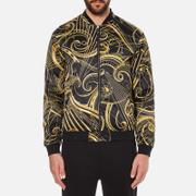Versace Jeans Men's All Over Print Jacket - Black