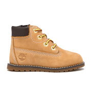 Timberland Toddlers' Pokey Pine Size Zip Lace Up Boots - Wheat
