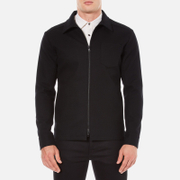 J.Lindeberg Men's Jonah Wool Mac - Black