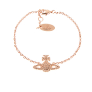 Vivienne Westwood Jewellery Women's Grace Bas Relief Bracelet - Light Peach