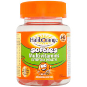 Haliborange Kids Multivitamin Softies - 30 Orange Fruit Shapes
