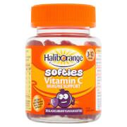 Haliborange Kids Vitamin C Immune Softies - 30 Blackcurrant Fruit Shapes
