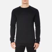 BOSS Orange Men's Wheel Crew Neck Sweatshirt - Black