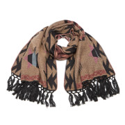 Vero Moda Women's Celine Long Scarf - Tan