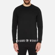 Versus Versace Men's Welt Detail Sweatshirt - Black