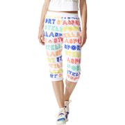 adidas Women's Stellasport 3/4 Track Pants - White