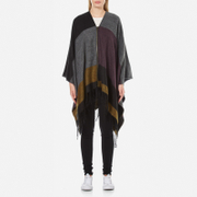 ONLY Women's Anda Weaved Zip Poncho - Fudge