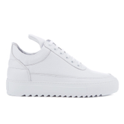 Filling Pieces Women's Thick Ripple Low Top Trainers - White