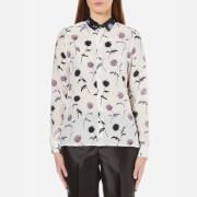 KENZO Women's Dandelion Silk Shirt - White