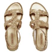Melissa Women's Campana Barocca 16 Sandals - Gold
