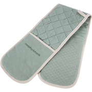 Morphy Richards 973514 Double Oven Glove - Sage Green